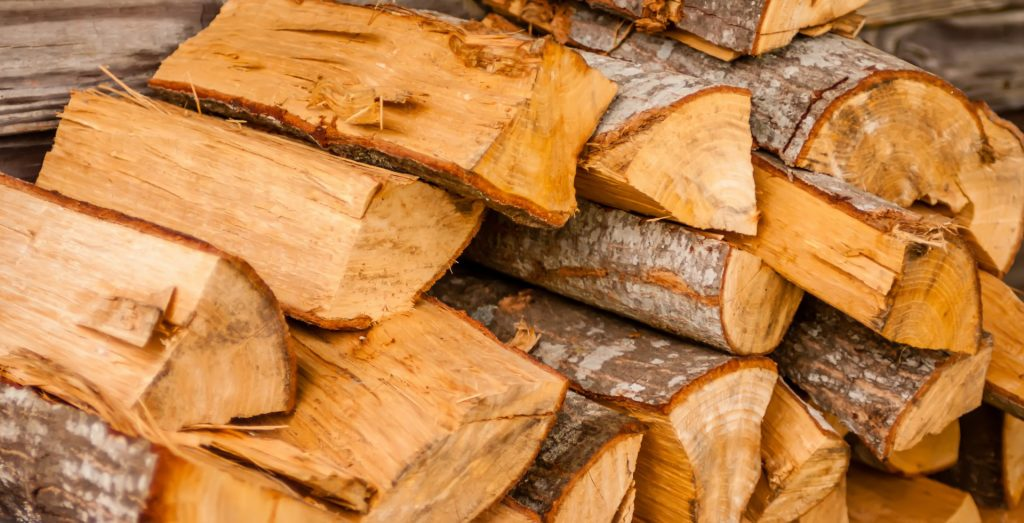 Paradise Landscaping & Tree Removal delivers chopped firewood
